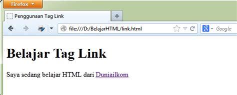 membuat link halaman dengan php belajar html dasar 10 cara membuat link di html tag a