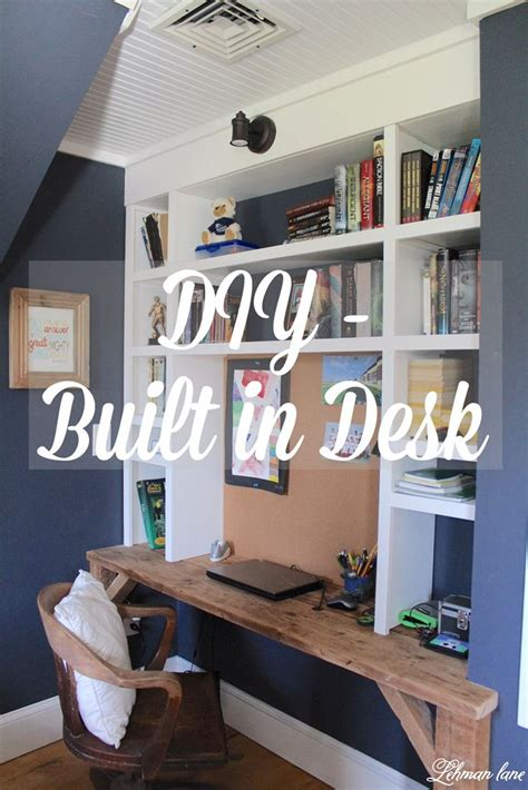 how to build a built in desk with drawers best 25 built in desk ideas on home office