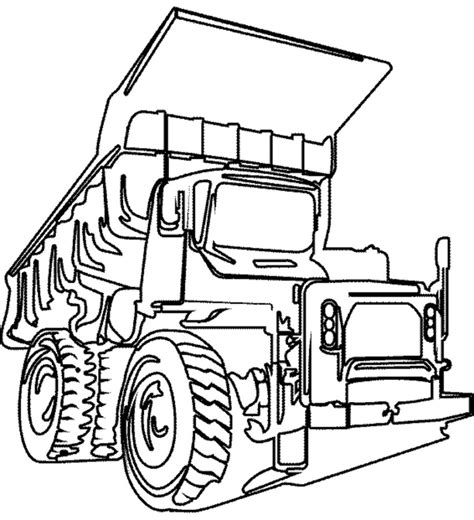 truck coloring page for preschoolers 38 dump truck coloring pages chuck the dump truck