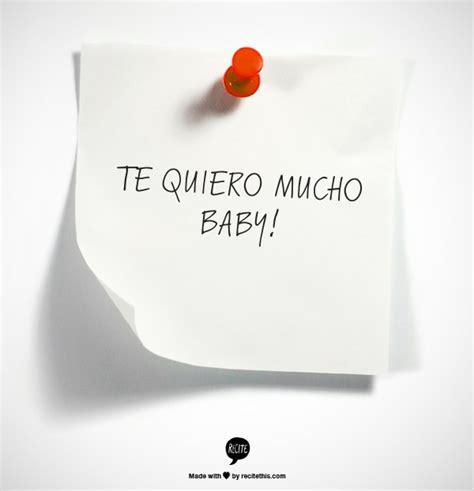te quiero mucho baby hopeless romantic