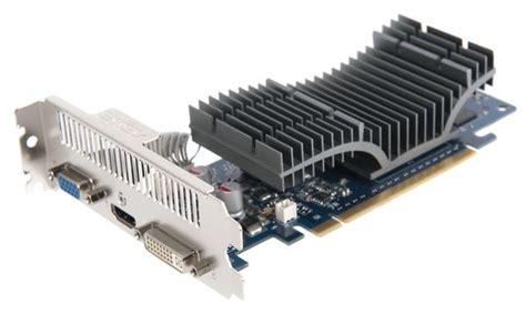 Vga Card Asus 210 Silent asus geforce g210 silent 512mb ddr2 dvi vga hdmi out directx 10 1 low profile pci e graphics