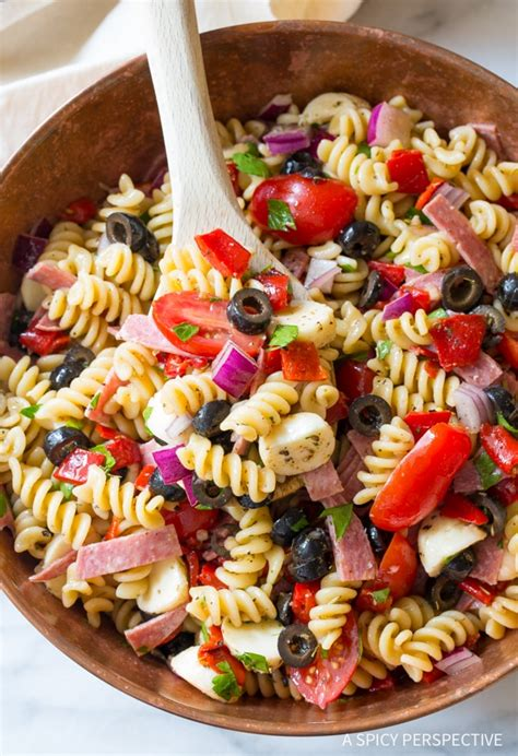 best italian the best italian pasta salad recipe a spicy perspective