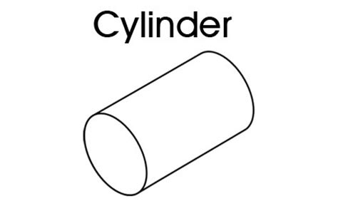 cylinder template 3d shapes cylinder printable