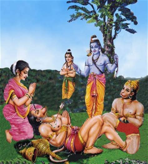 ram story in kishkindha kand the ramayana story in pictures vali