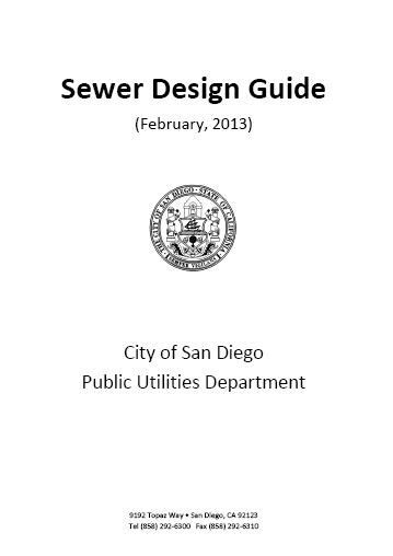 sewerage design guidelines malaysia sewer design guide san diego t 224 i liệu học tập