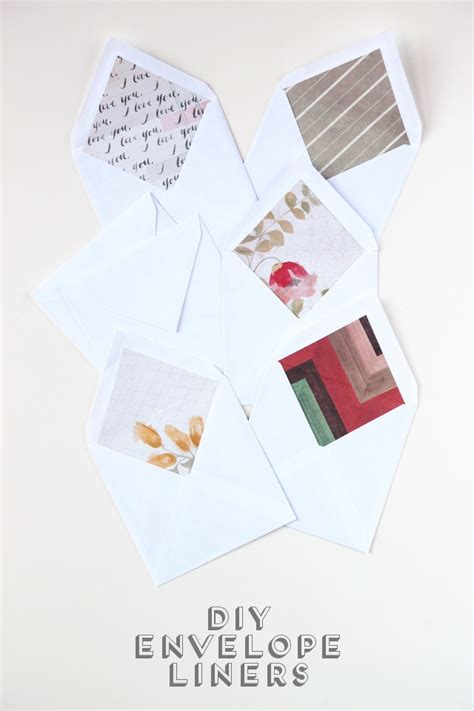diy envelope liners diy envelope liners gathering
