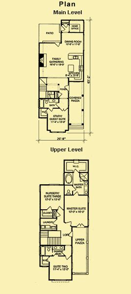 narrow lot colonial house plans narrow lot plans for a carolina style coastal house
