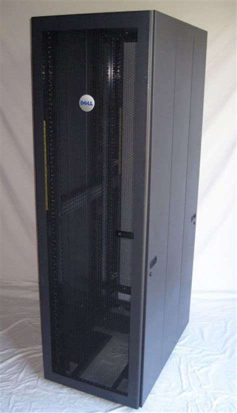 42u dell 4210 server rack enclosure cabinet by rittal p n
