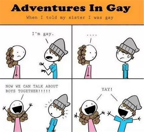 Cute Gay Memes - adventures in gay gay and loving it pinterest