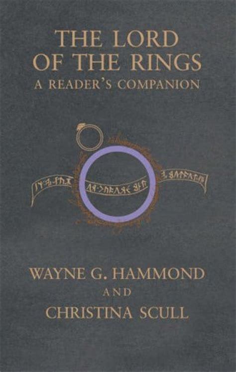portada del libro the lord of the rings a reader 180 s companion multimedia ilustraciones