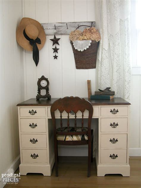 vintage desk vintage desk makeover by boy prodigal pieces