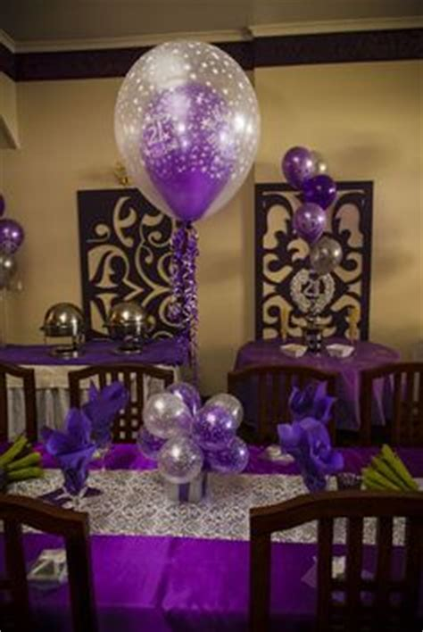 Laisa 2tone 1000 images about 21st birthday ideas on table decorations for weddings