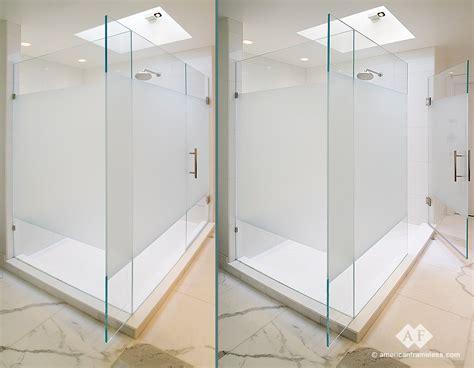 Frosted Shower Doors 17 Frosted Frameless Shower Doors Hobbylobbys Info