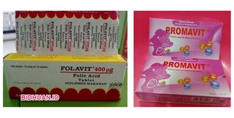Suplemen Folavit Suplemen Ibu Promavit Vs Folavit Mana Yang Lebih