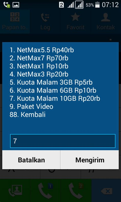 setting anonytun kouta youthmax paket internet 10gb harga rp 20ribu kartu tri 3