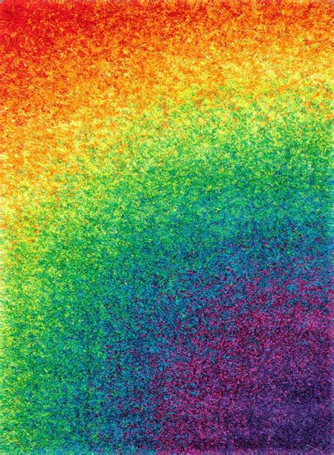 barcelona shag bs 01 rainbow rug by loloi