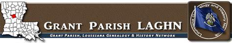 Rapides Parish Marriage Records Grant Parish Laghn Communities