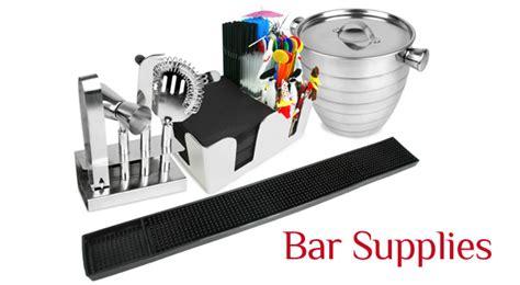 Bar Supplies Cater Re Fit Bar Supplies