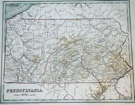 map of pa texas 1830 s pennsylvania maps
