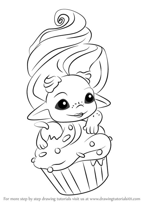 coloring pages zelfs learn how to draw frostette from the zelfs the zelfs
