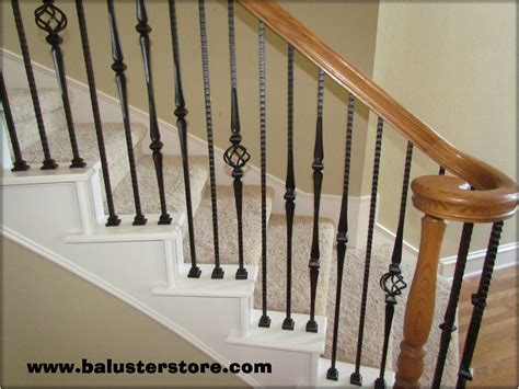 Metal Stair Banisters by High Quality Powder Coated Iron Stair Parts Ironman1821