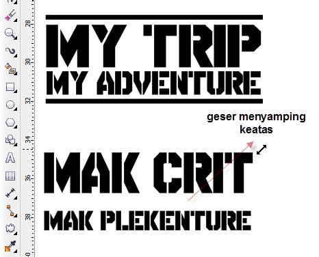Kaos My Trip My Adventure Garut 1 V Neck Vnk Mta04 menggambar logo my trip my adventure belajar coreldraw