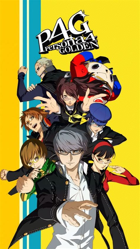 persona 4 iphone wallpaper wallpapersafari
