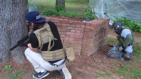 airsoft war backyard combative airsoft backyard war 6 2 13 youtube