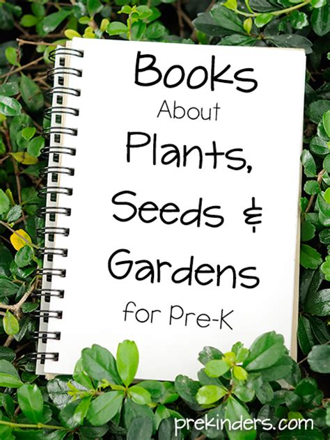 Seed And Garden by Plants Seeds Garden Books Prekinders