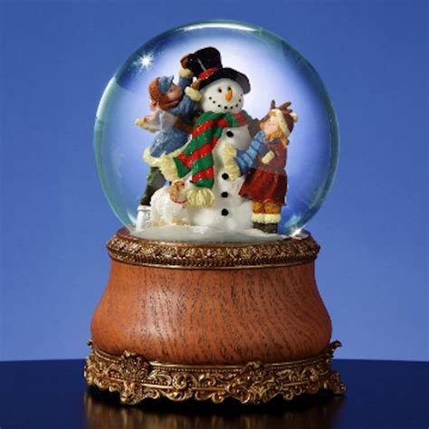 musical snowman snow globe 17 best images about snow globes on reindeer merry and water globes