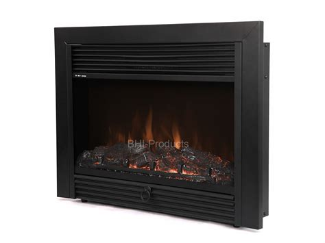 electric fireplace insert with heater new 28 quot black electric fireplace insert room heater