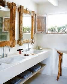 Rustic Modern Bathroom 39 Cool Rustic Bathroom Designs Digsdigs