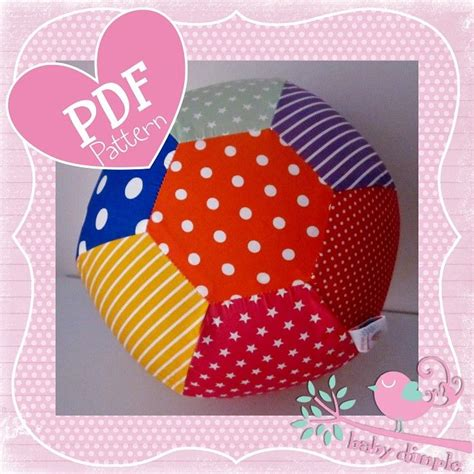 fabric crafts baby fabric balloon cover pdf pattern by babydimple on