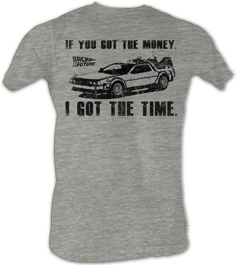 Tees Kaos T Shirt Future back to the future t shirt got da money gray