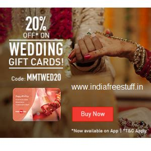 Makemytrip E Gift Card - makemytrip rs 2000 wedding gift card rs 1600 makemytrip