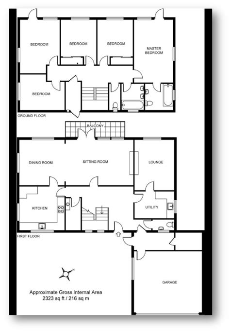 estate agent floor plans upside down inside out the upside down house