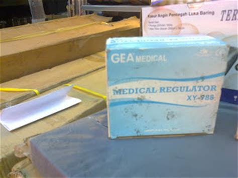 Gea Regulator Oksigen Xy 98b 1 regulator oksigen medis gea