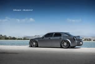 Matte Grey Chrysler 300 Bd 9 Wheels