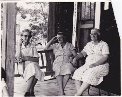 we sit on front porches and swing life away from kids to grannies we sat on the front porch to talk