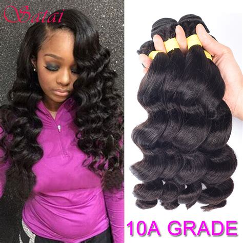 different loose wave hairstyles aliexpress com buy brazilian loose wave 4 bundles