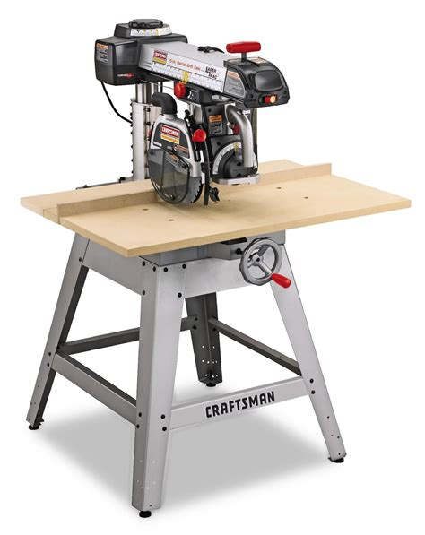 Radial Arm Saw Vs Table Saw by Craftsman Radial Arm Saw Table 1