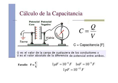 que es un capacitor y que es la capacitancia capacitores