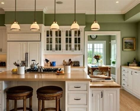green kitchen cabinets design  ideas