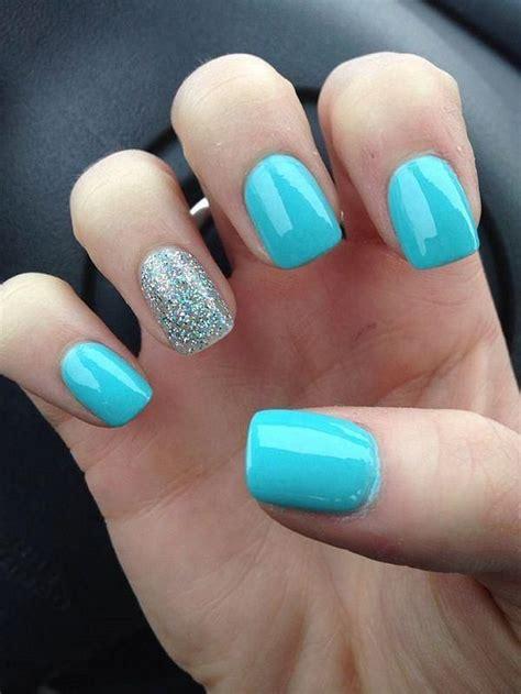 imagenes de uñas decoradas para toda ocasion las 25 mejores ideas sobre u 241 as acrilicas azules en