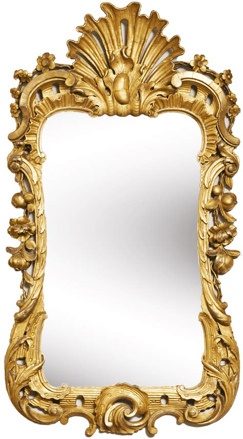 Vans Transparent Mirror Silver mirror gold frame png photos png