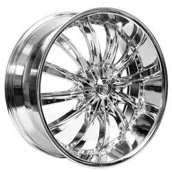 White Truck Wheels For Sale 24 Quot Borghini Wheels B19 Chrome Rims Bor016 4