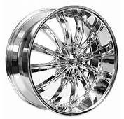 24 Borghini Wheels B19 Chrome Rims BOR016 4
