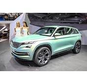 2017 Skoda Kodiaq Official New Teaser Pictures And Video Released