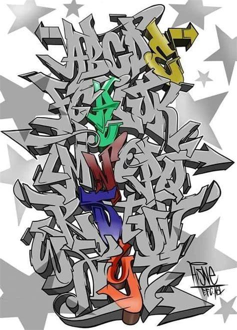 imagenes de abecedario en graffiti wildstyle graffitis