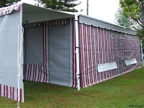 caravan roll out awning walls caravan annexes 171 coffs canvas